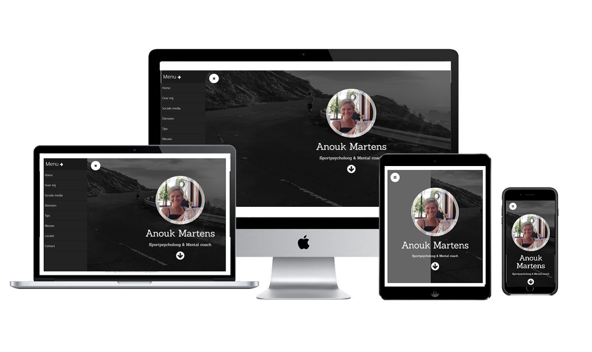 Anouk responsive website