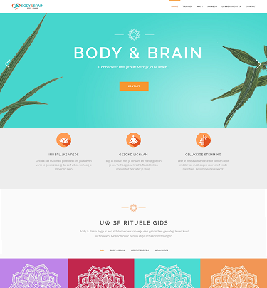 Homepage Body & Brain