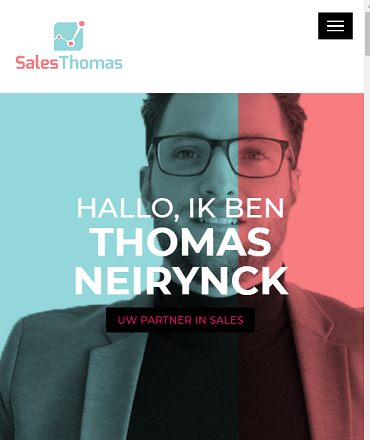 Thomas, uw partner in Sales